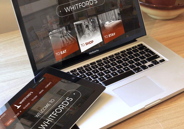 Whifords Tablet design