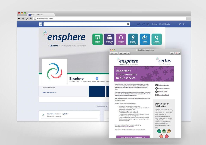Ensphere Digital marketing design
