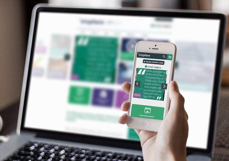 Ensphere Responsive web design