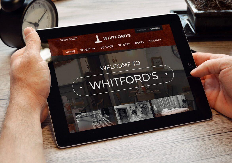 Whitford's iPad Design