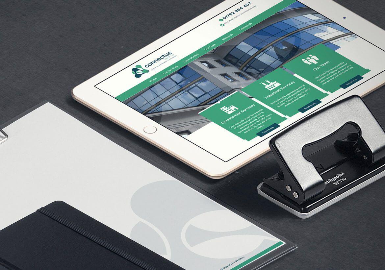 ConnectUs Electrical Brand design