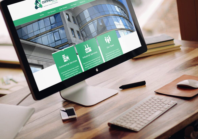 ConnectUs Electrical Responsive web design
