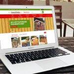 Sheds N Chalets Website design