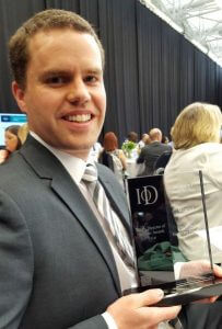 Ben Wheeler IoD Winner