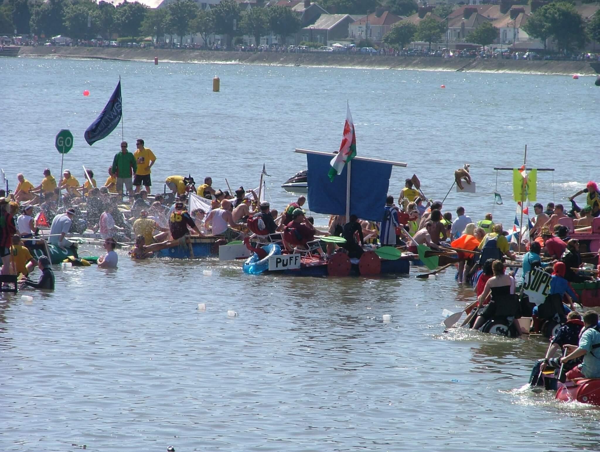 Swansea Raft Race